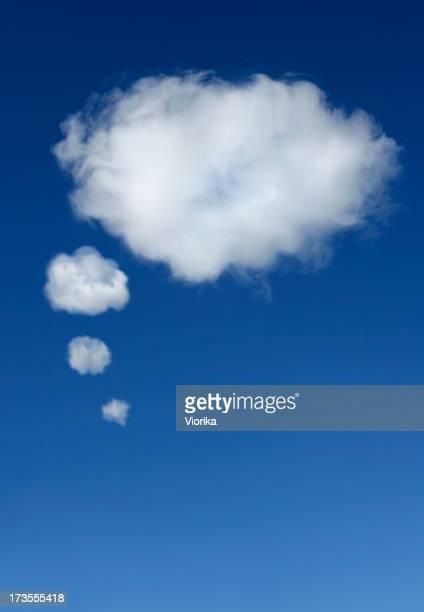 Nube Burbuja de pensamiento