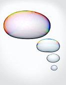 'Thought bubbles' (Digital Composite)