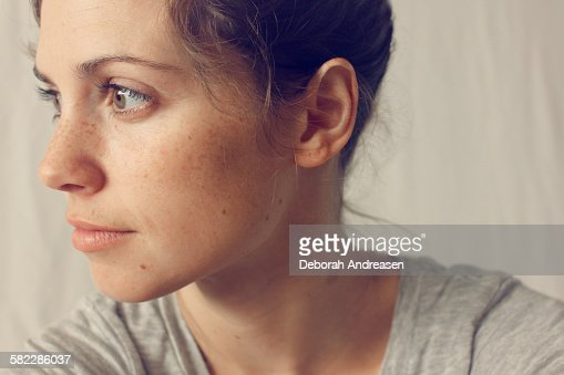 Thoughtful Woman