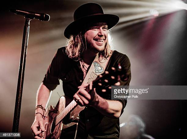 A Thousand Horses performs at The Troubadour on October 1 2015 in West Hollywood California