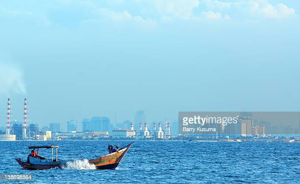Thousand island tourism near Jakarta