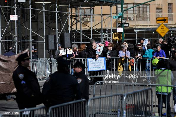 Thousands gather around the nation on Presidents Day February 20th to protest the Trumppresidency in similar rallies as the Not My Presidents Day...