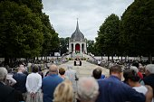 Thousands of Catholics attend the 'Grand Pardon' religious procession on July 26 2016 in SainteAnned'Auray western France This Catholic pilgrimage...
