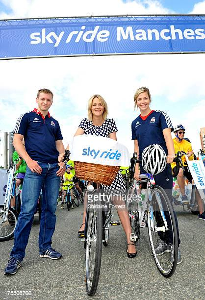 Thousands of participants joined radio and TV presenter Edith Bowman Olympic gold medallist Jason Kenny and world track champion Becky James at Sky...