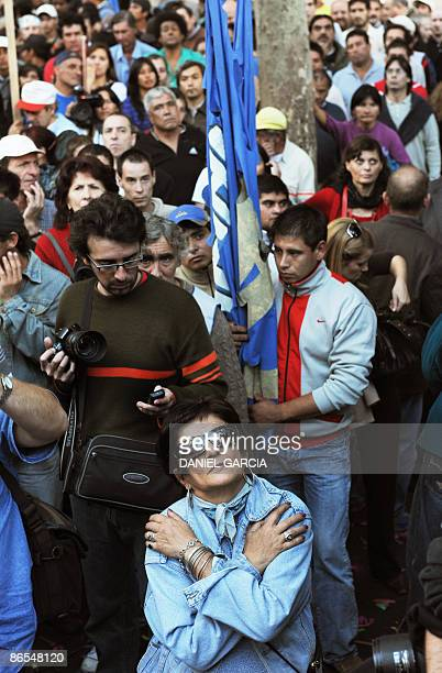 Thousands of picketeers adhering to the Central of Popular Movements one of the largest organizations of poor and unemployed people in Argentina...