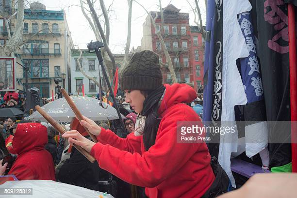 Thousands of spectators and community members converged upon Sara D Roosevelt Park in New York City's Chinatown to mark the start of the Chinese...