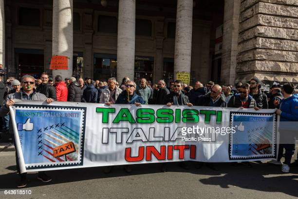 Thousands of street vendors and taxi drivers take part in a rally to protest against the socalled Bolkestein directive in Rome Italy The Bolkestein...