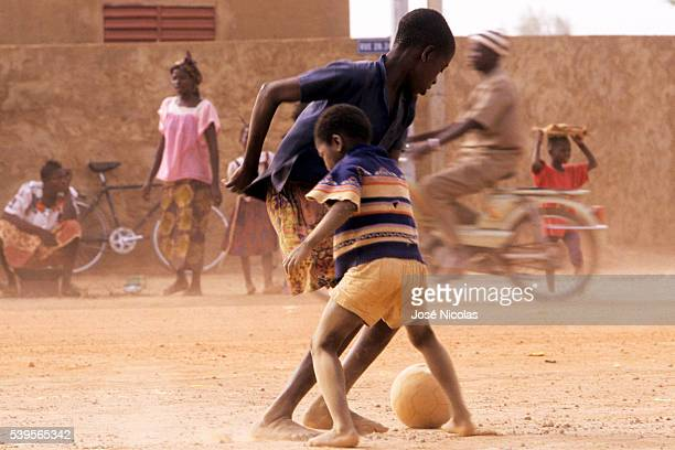 Thousands of young African boys dream of leaving their lives of poverty to play football in Europe and feed their families The majority of the boys...
