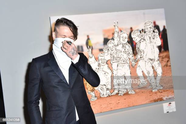 Thrashbird attends the First Annual Medair Gala at Stephan Weiss Studio on March 30 2017 in New York City