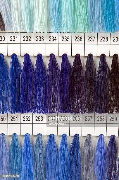 Échantillons de couleur de fil
