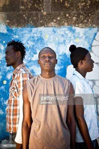 Three Africans Men