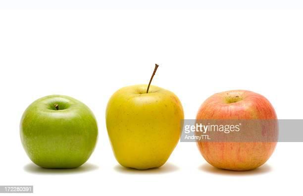 3 つのりんご
