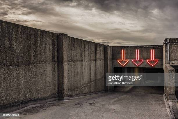 Three arrows direction