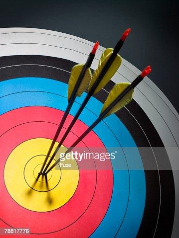 Three Arrows in the Bull's Eye