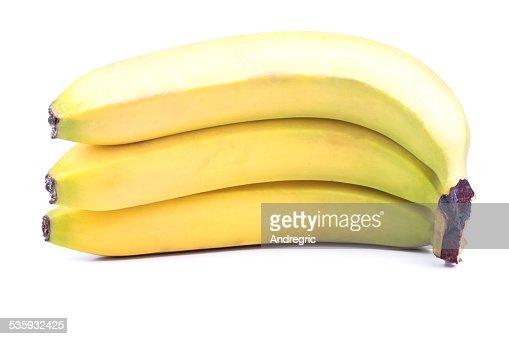 Three banana : Stock Photo