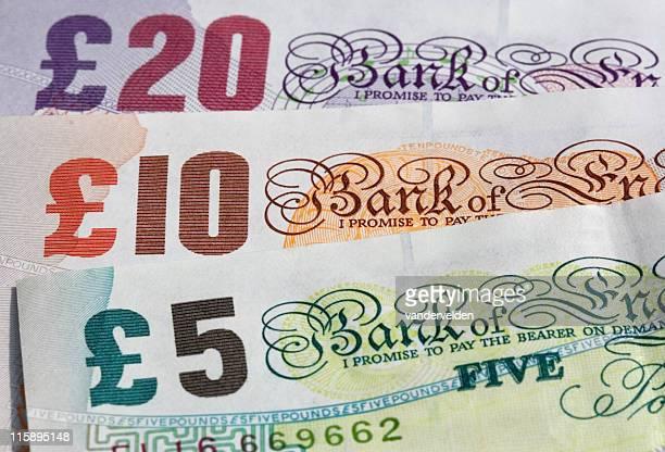 Three Banknotes