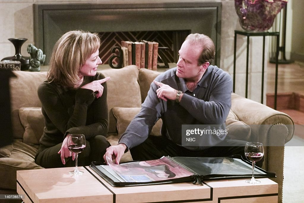 Image result for allison janney and kelsey grammer frasier