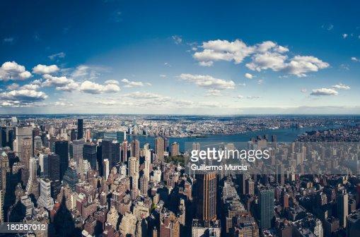 NYC Three Boroughs Aerial