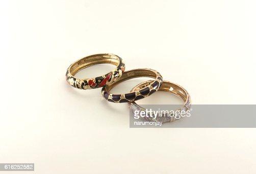 three bracelet : Stock Photo