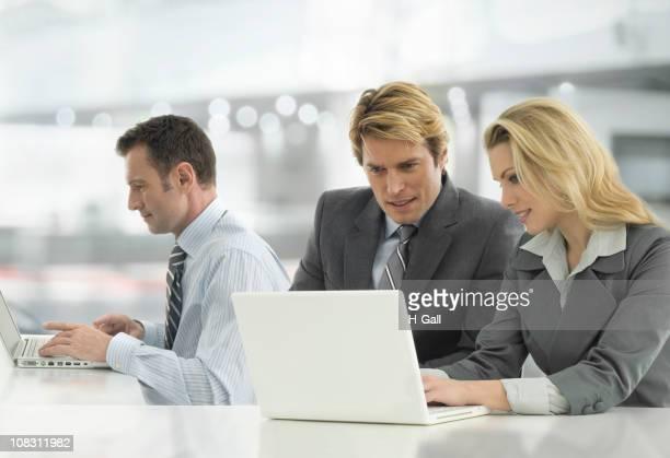 3 つのビジネスマン