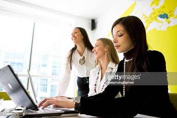 Drei Geschäftsfrauen