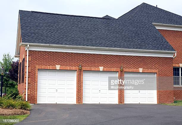 Three Car Garage  Home  Suburbia