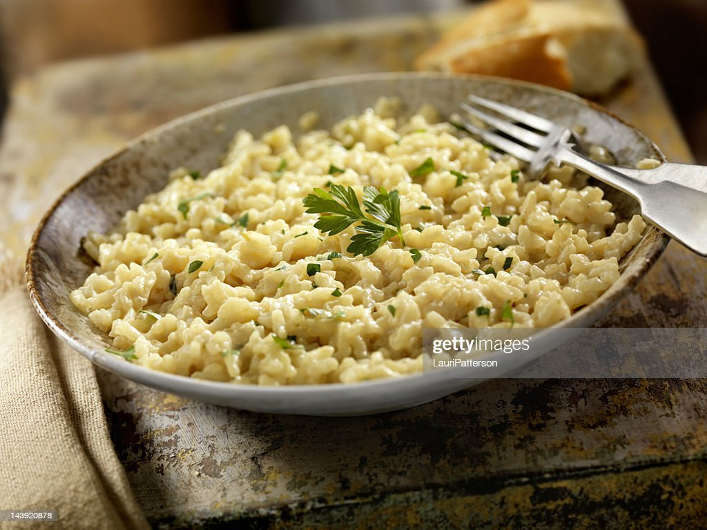 Three Cheese Risotto : Stock Photo