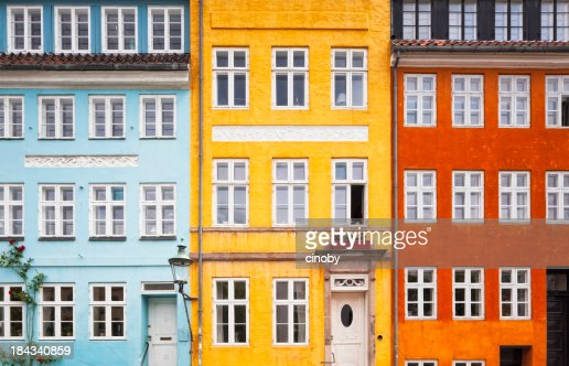 Three Colors House Front
