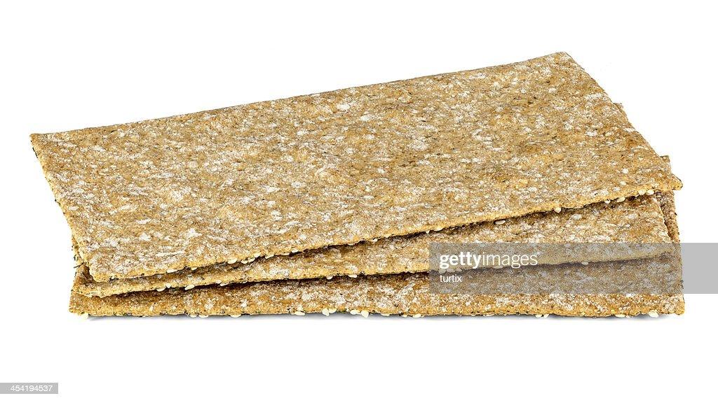 three crispbread : Stock Photo