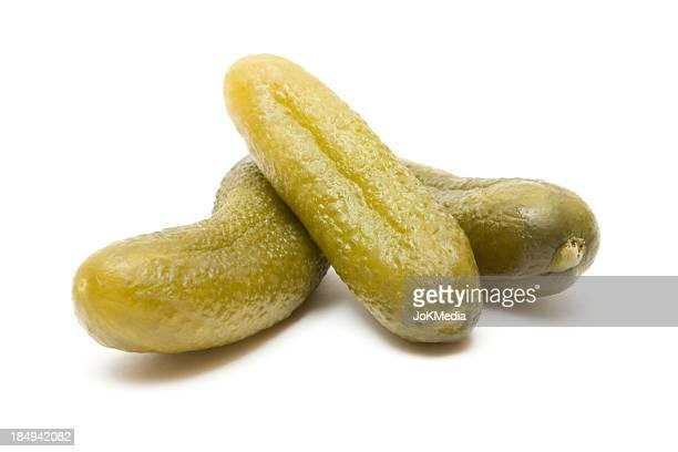 Three Cucumber Pickles