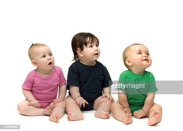 Drei niedlichen Babys