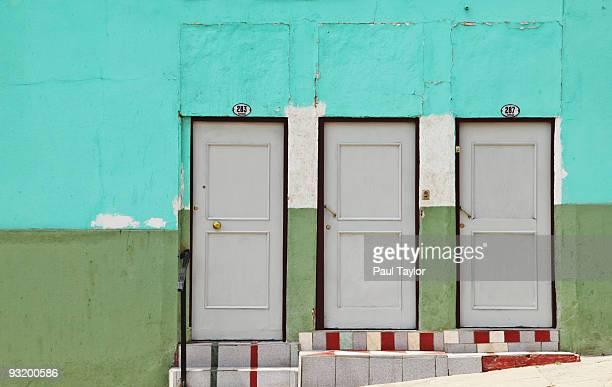 Three doors in Valparaiso