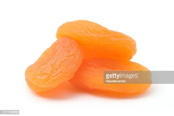 Three Dried Apricots