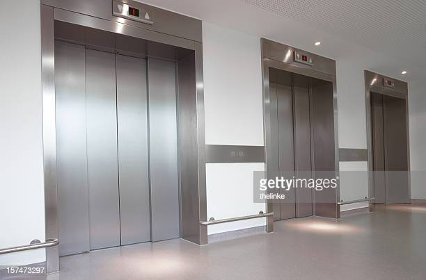 Three elevators