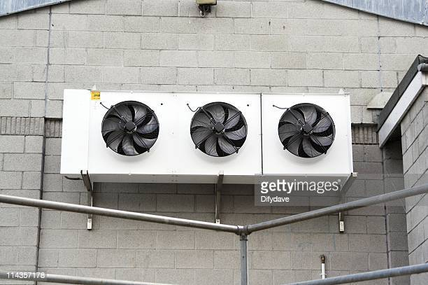 Three Fan Industrial Refrigeration Unit
