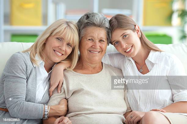 Three female generations.