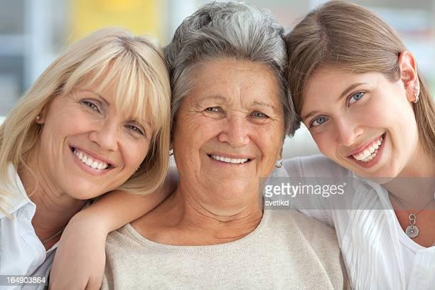 Drei weibliche Generationen.