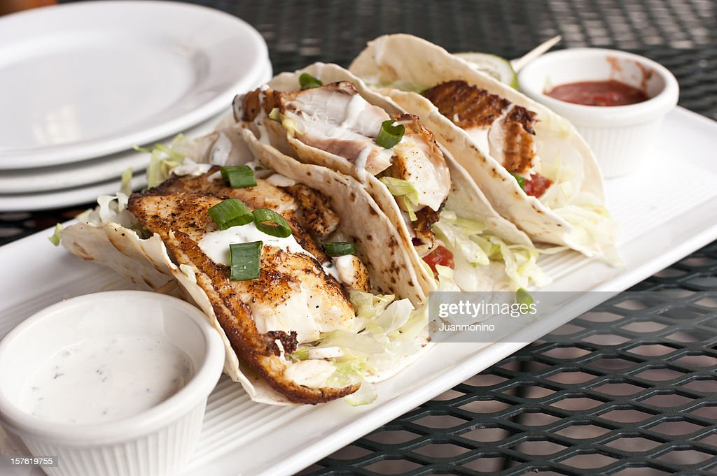 Three Fish Tacos