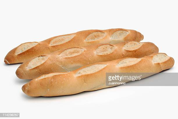 Trois des baguettes françaises