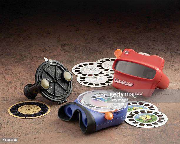 Three generations of a ViewMaster '3D Viewer' are seen displayed in this photograph from FisherPrice With more than one billion ViewMasters sold...