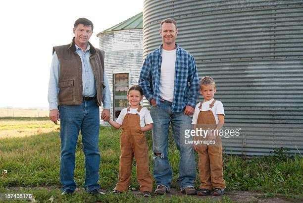 Three Generations of Farmers