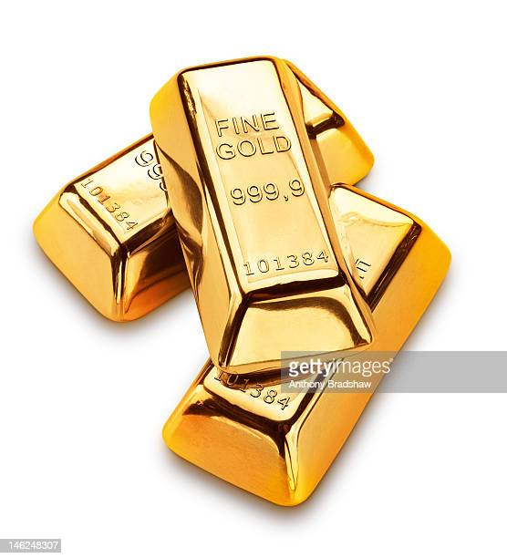 Three gold ingots