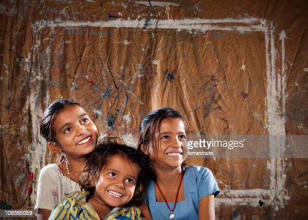 Three Indian Siblings