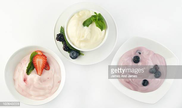 Three Kinds of Yogurt