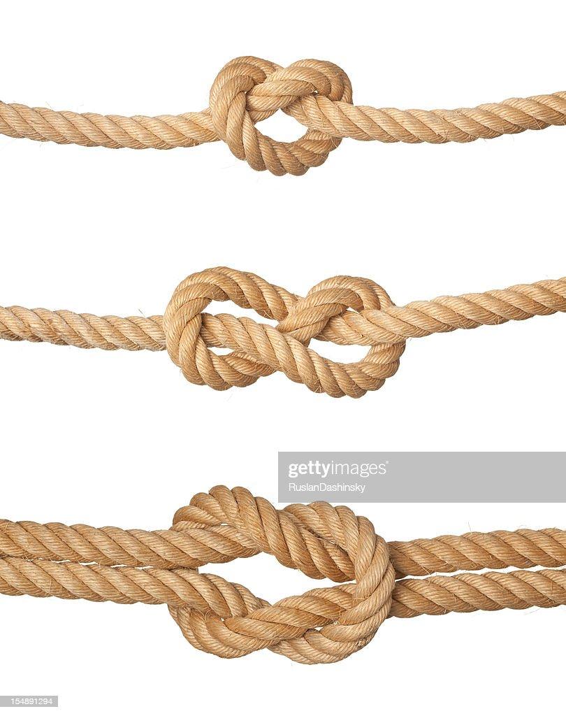 Three knots.