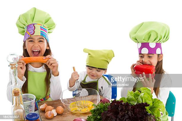 Trois petits cookers