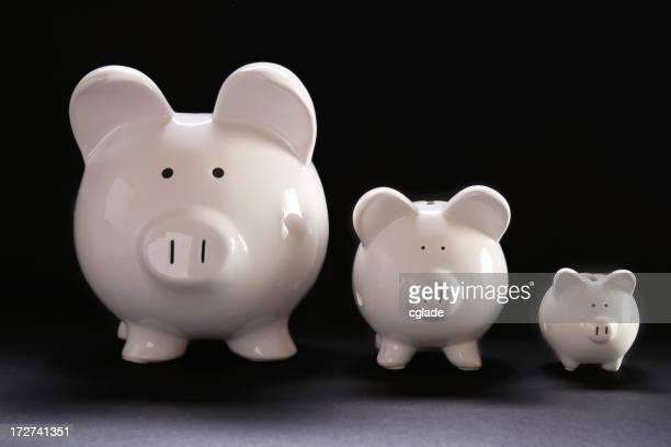 Drei kleine Schweinen
