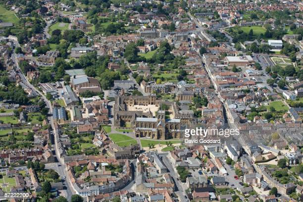 Three miles east of Yeovil is the picturesque market town of Sherborne situated on the river Yeo on 11th July 2007