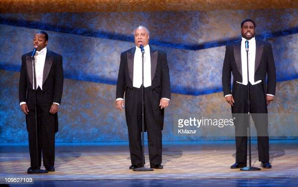 Three Mo' Tenors perform 'On Stage at the Kennedy Center The Mark Twain Prize' will air November 21 at 9 pm on PBS
