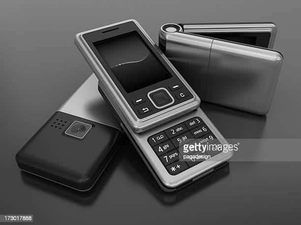 3 つの携帯電話